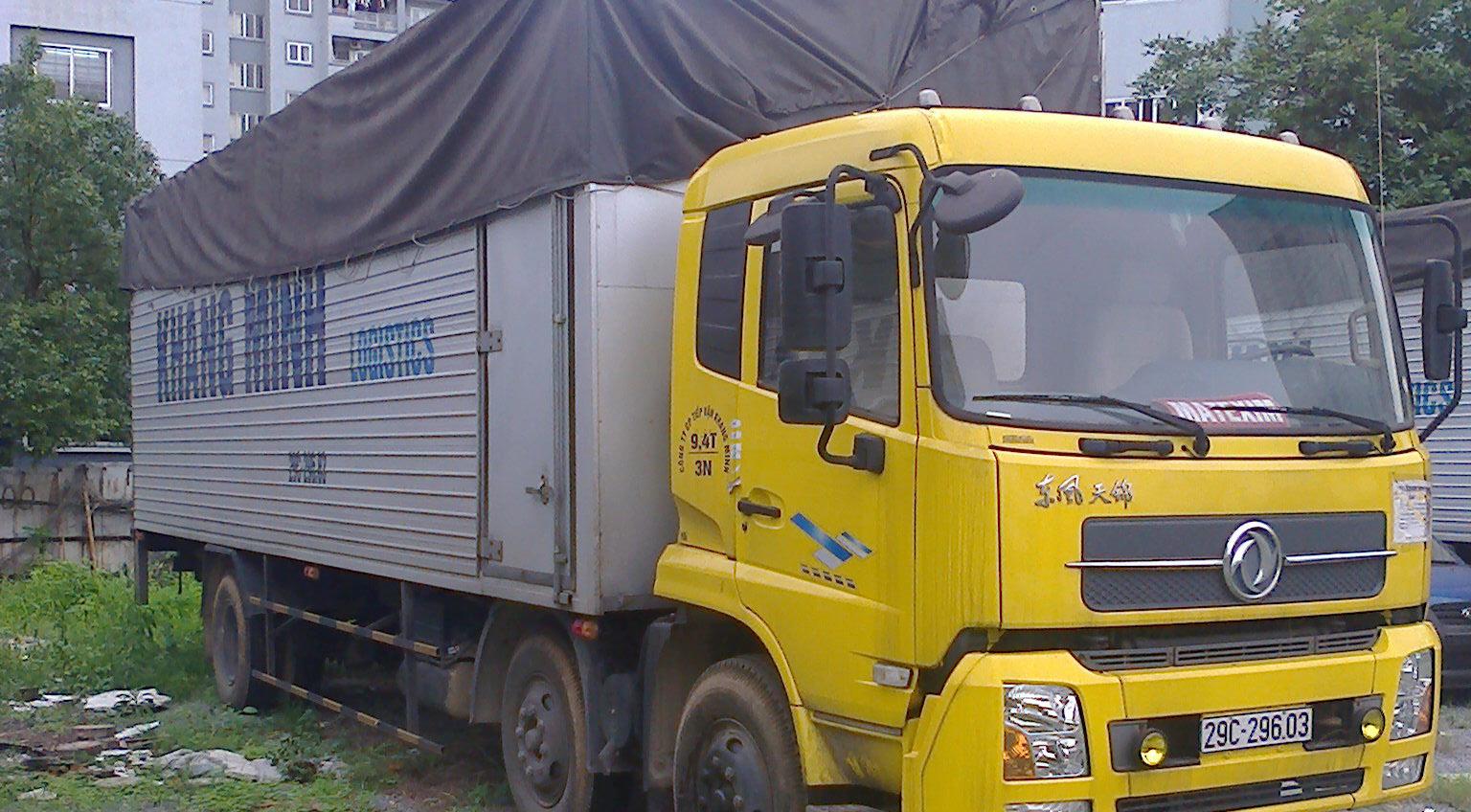 Xe tải khung mui phủ bạt - Khang Minh