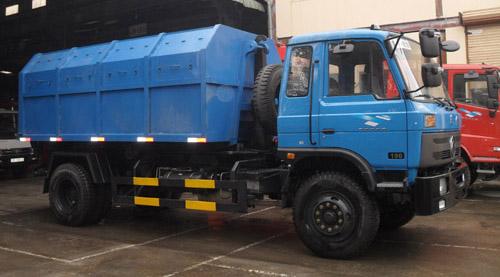 Xe chở rác Hino thùng rời
