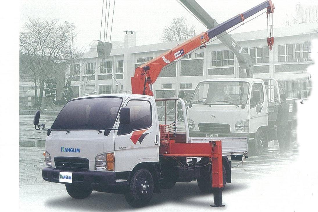 Xe tải KS730 Series gắn cẩu Kanglim KS733N