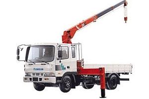 Xe tải gắn cẩu Kanglim KS1056