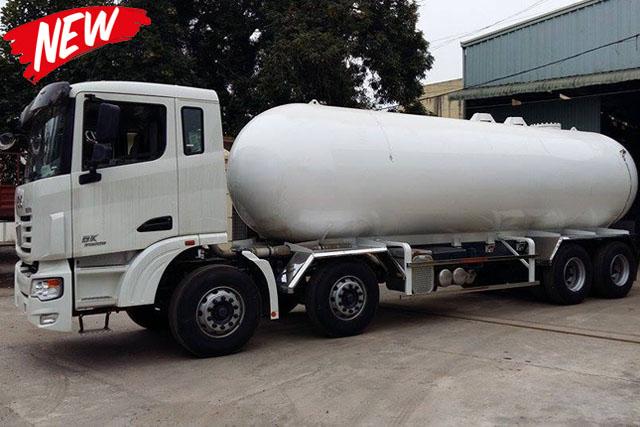 Xe bồn Khang Minh chở LPG hóa lỏng