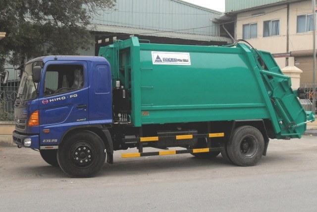 Xe ép chở rác Khang Minh ER