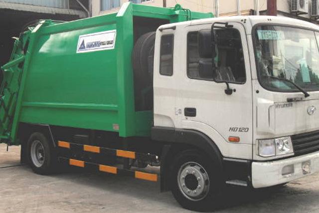 Xe ép rác Khang Minh HD120