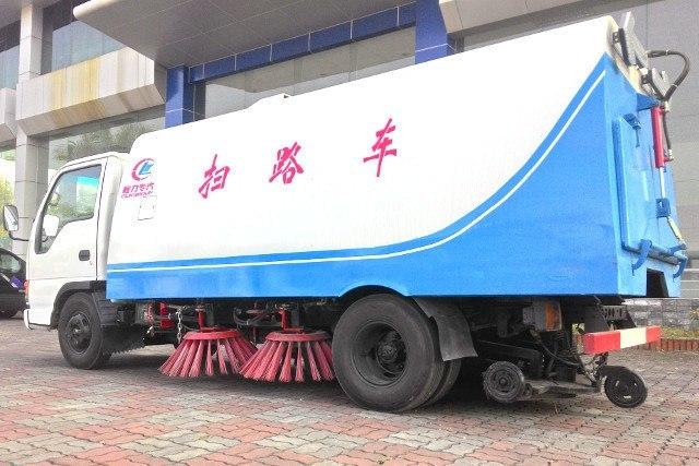 Xe quét đường hút bụi Khang Minh Isuzu