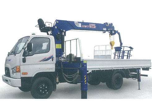 Xe tải gắn cẩu Hotomi LS1030TS