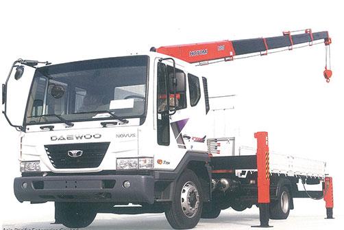 Xe tải gắn cẩu Hotomi LS1035