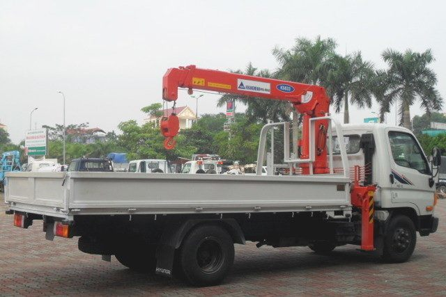 Xe tải cẩu khang minh 3 tấn hd72 ks633