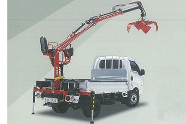 Xe tải cẩu ngoàm Kanglim KN083