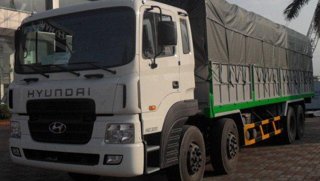 Xe tải có mui hyundai hd320/km-tmb2