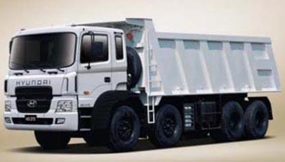 Xe tải tự đổ HD370 - 15m3