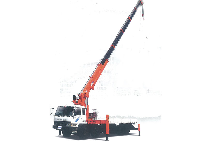 Xe tải gắn cẩu tự hành Kanglim KS5206