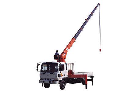 Xe tải gắn cẩu Kanglim KS1256G-II