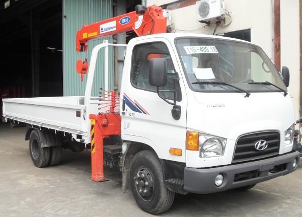 Mua xe tải gắn cẩu ở đâu tại Hà Nội